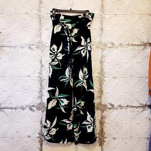 Lucy Paris Wide Leg Floral Pants